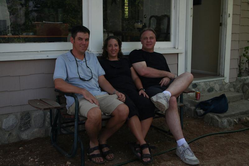 Outside Craig's house