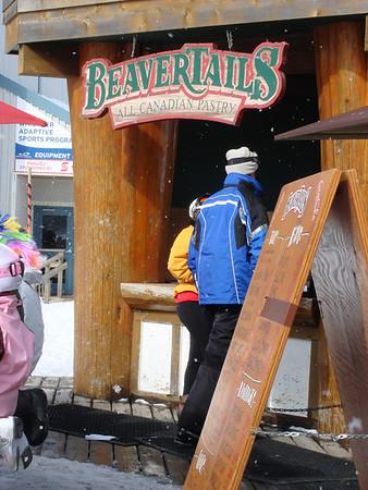 """Nice """"beaver tail"""""""