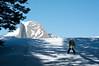 Nearing Glacier Point Hut
