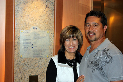 Martha & Manny on the ship - 05/23/09