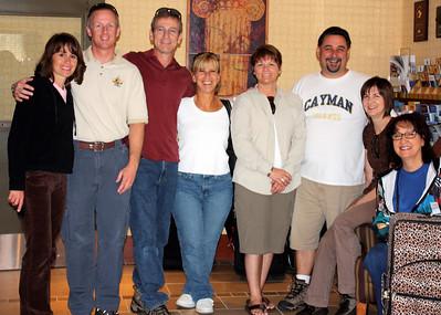 Sandy, Bill, Joe, Nancy, Connie, Bob, Karlene, Sue - Vancouver