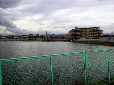 Pond For Irrigation in Nishikinohama