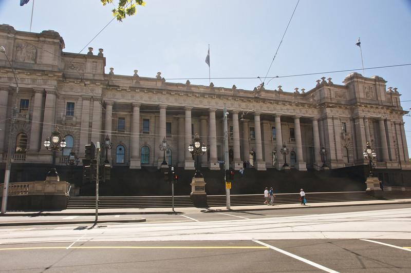 Parliment Building Melbourne