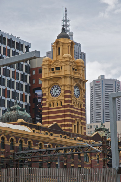 Melbourne Rail Staton