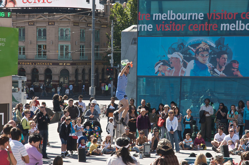 Street Performer Melbourne