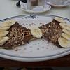 Nutella crêpe - yummmmm