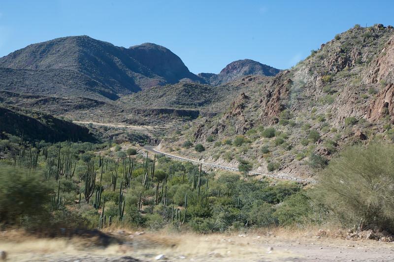 Highway towards Loreto