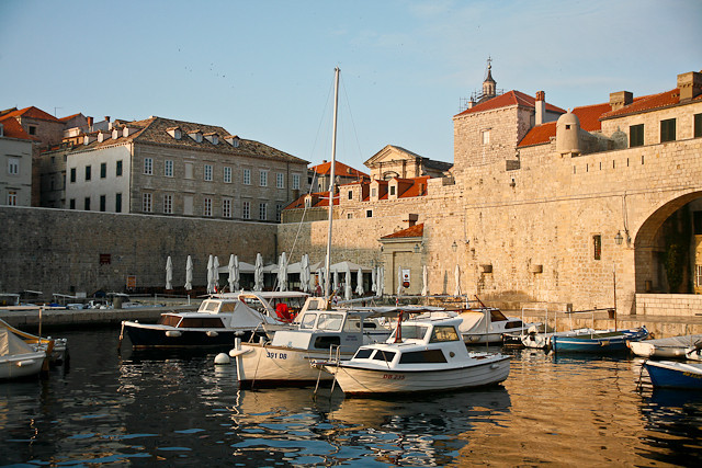 Dubrovnik Old Port  Harbor