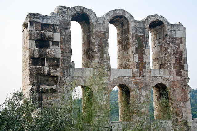 The Acropolis  - The Odeon