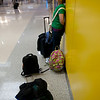 Can you believe it, this was ALL the luggage we took - didn't check anything!