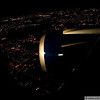 Flying into Paris just before daybreak
