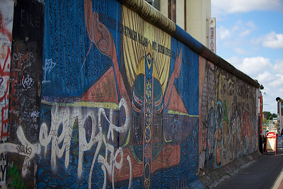 Painted Berlin Wall