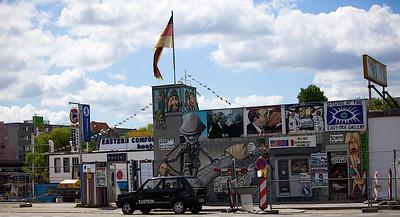 Shop at the Berlin Wall.