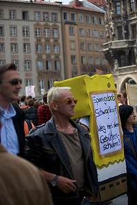 Organized Protest.