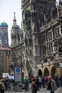 Church near the square.
