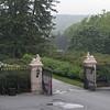 Gates to Biltmore House main entrance