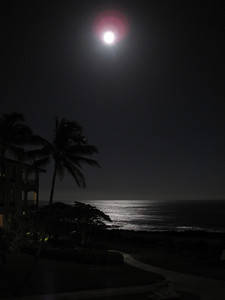 Moon over Poipu