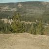 Above the highway in the Sierra Nevadas