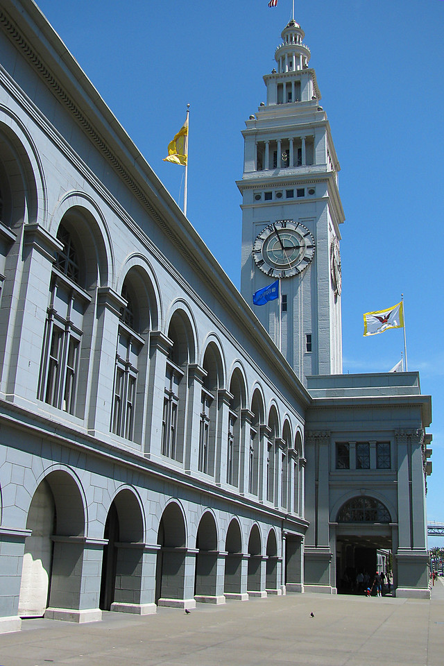 Ferry Building.