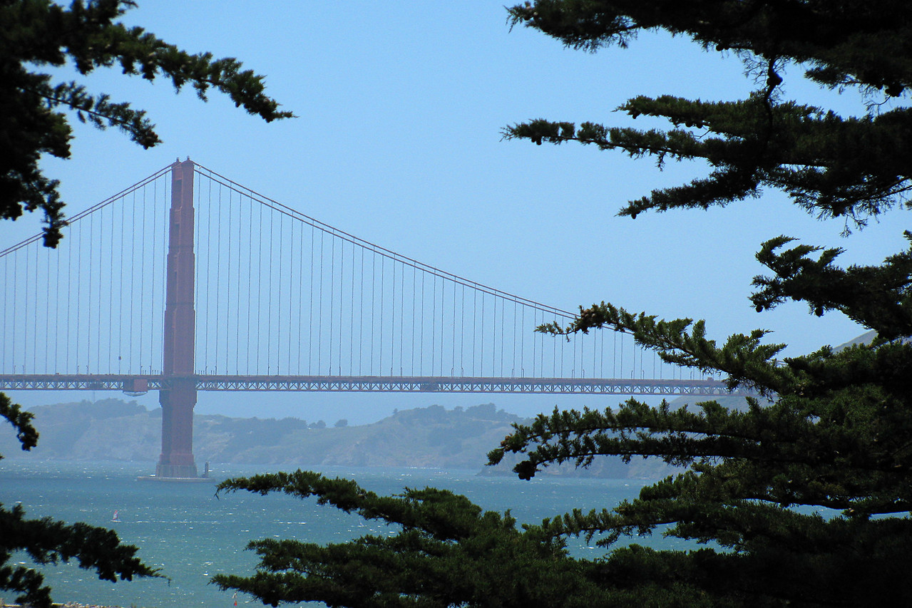 Golden Gate Bridge from Fort Mason
