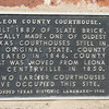 Centerville TX - The Leon County courthouse