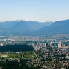 Vancouver from the plain on the way in.