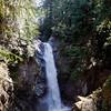 Cascade Falls in Mission British Columbia, Canada
