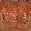 Details of erosion patterns along the southern Bryce Canyon ridge (not really a canyon)