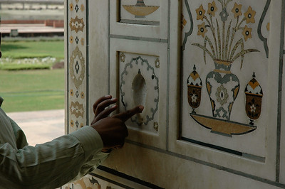 Itmad-Ud-Daulah in Agra: they learned here how they needed to make better cement for the Taj.