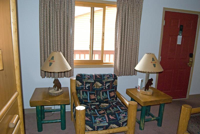 Part of our mini-suite at Denali