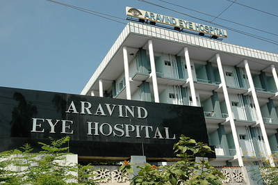 Aravind Eye Hospital: The original hospital, currently the one for paying patients.