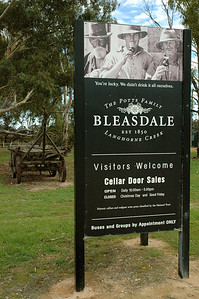 Bleasdale, one of the oldest businesses in Australia.