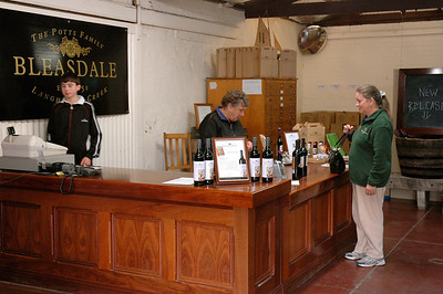 It's hard to taste a few wines without purchasing a few. Bleasdale, one of the oldest businesses in Australia.
