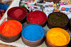 Powdered dyes for sale, Pisac