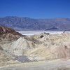 View west into the northern part of Death Valley from Zabriskie Point