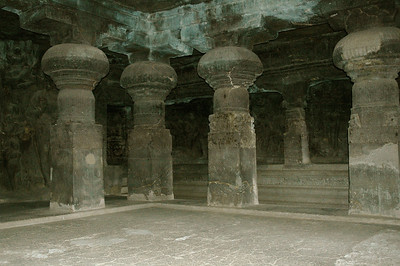 Ellora: Cave 2, from 8th century A.D.