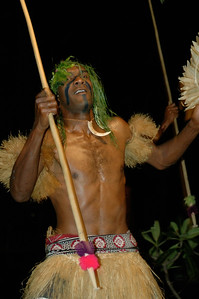 Musket Cove resort presents a traditional meke ceremony. [Malolo lailai, Fiji]