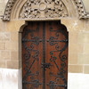 Back door to a wing of the cathedral.