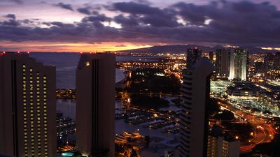 Ala Moana Sunset