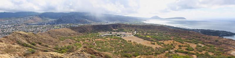 Diamond Head Crater View