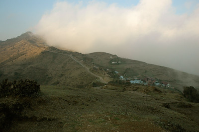 Himalaya Trek: Our first campsite is next to Tonglu, at 3070m.
