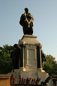 IISc Founder's Day celebration; Tata's statue was garlanded.