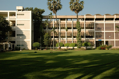 IIT Bombay:the central administration buildings.