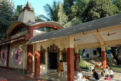 IIT Bombay: an on-campus Hindu temple.