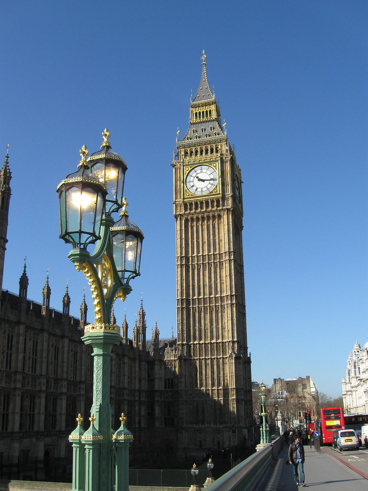 "Most would say ""Big Ben"", but that actually refers to the large bell in the clock tower. The name of this is ""The Clock Tower"". It is the world's largest chiming four faced clock tower."