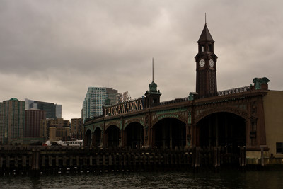 Hoboken terminal from the water