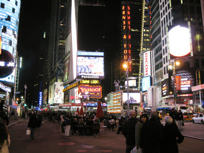World Series in Times Square