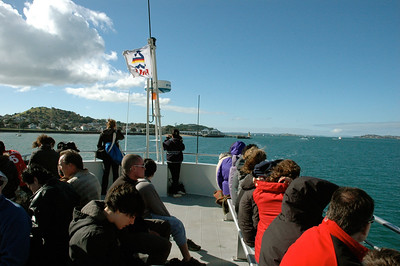 Auckland uNZ: a ferry ride to the volcano.