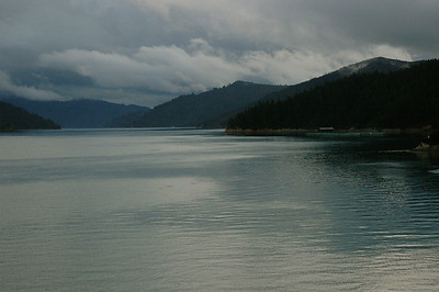 New Zealand. Cook Strait: The Tory Channel is the deep-water entrance to the port.