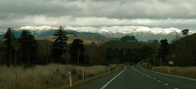 Sometimes, it's hard to keep your eyes on the road! New Zealand.